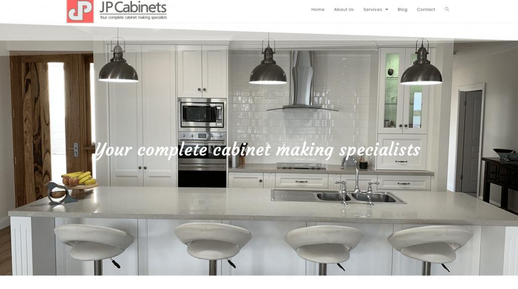 JP Cabinets Website