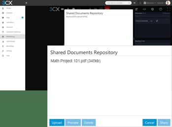 3CX Screen Sharing